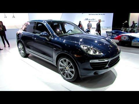 2013 Porsche Cayenne Diesel Exterior and Interior - Debut at 2012 New York International Auto Show