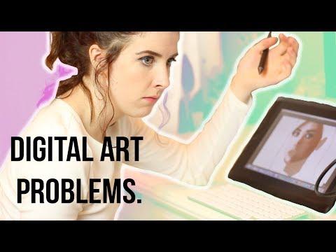 Digital Art Problems (+ANNOUNCEMENT!)
