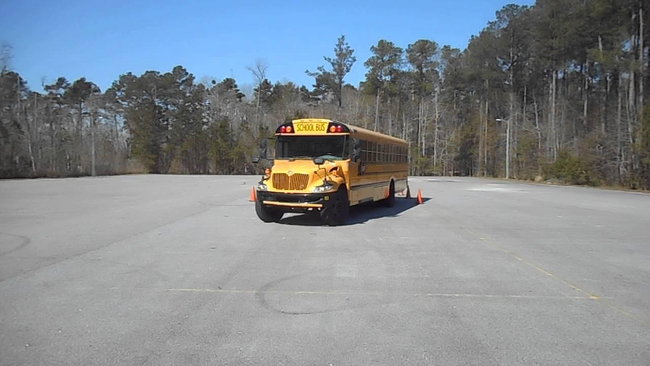 51  Skills  U2013 Offset Backing  U2013 Class B Cdl School Bus