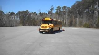 28. Skills – Offset Backing – Class B CDL School Bus