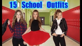 15 BACK TO SCHOOL OUTFITS