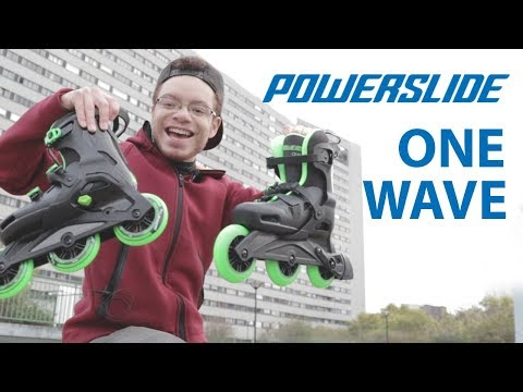 Inline skating with the POWERSLIDE ONE WAVE + GIVEAWAY