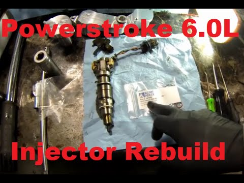 Ford Powerstroke 6.0L Injector Seal Replacement and Sna