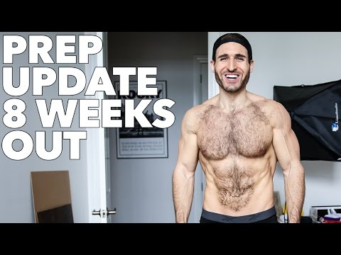 Bodybuilding Posing and Physique Prep Update - 8 Weeks Out