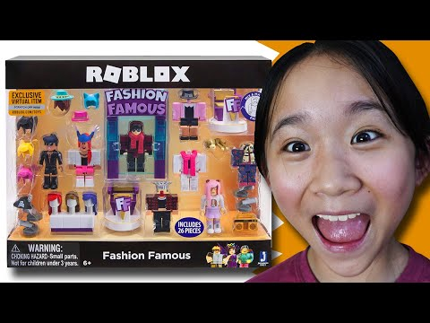 Fashion Famous Toy Playset DESIGN Challenge! / Roblox