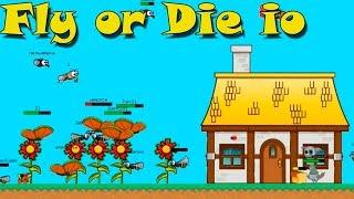 Fly or Die.io - Лети или Умри ио \ titotu.ru куча ио игр (канал ио игры)