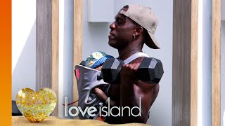 The Lukes work out with bicep curls and babies | Love Island Series 6