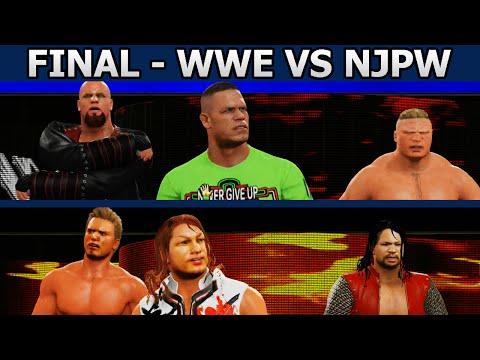 WWE Vs NJPW (FINAL) Elimination Chamber - WWE 2K15 Trios Tournament 2015