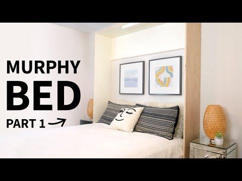 DIY Built In Murphy Bed