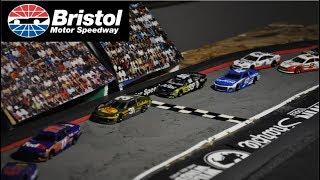Nascar Stop Motion 2018: Race 4 Bristol Motor-Speedway
