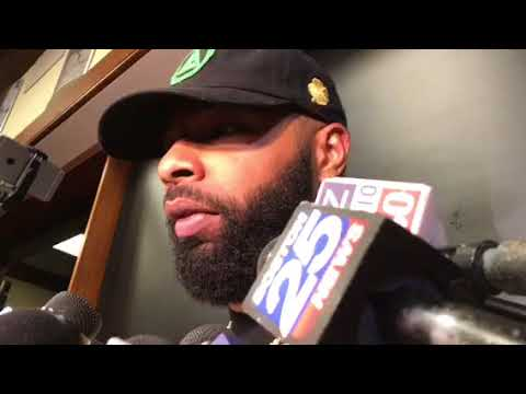 "Marcus Morris on Celtics ""gooning"" up the game: ""That's a good word"""