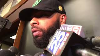 """Marcus Morris on Celtics """"gooning"""" up the game: """"That's a good word"""""""