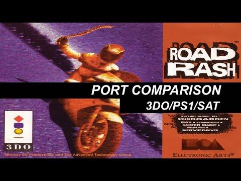 Road Rash 32-bit Port Comparison: 3DO/PS1/SAT