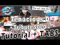 Tenacious D - TRIBUTE - SOLO | Guitar Tutorial / How to play / Lesson