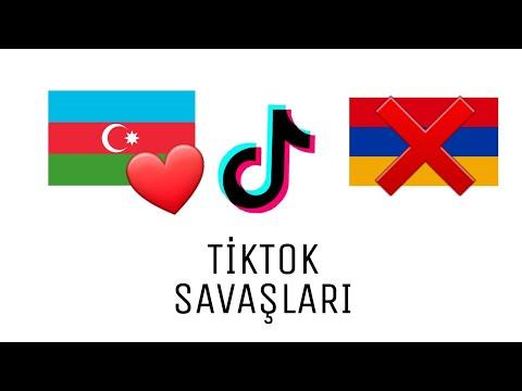 AZERBAİJAN VS ARMANİ TİKTOK SAVAŞLARI