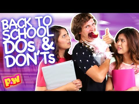 Dos and Don'ts Back to School Tips ~ pocket.watch