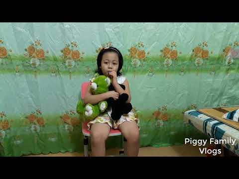Funny Baby Read Poetry Thanh Mai Piggy Family The poem is very rich and interesting