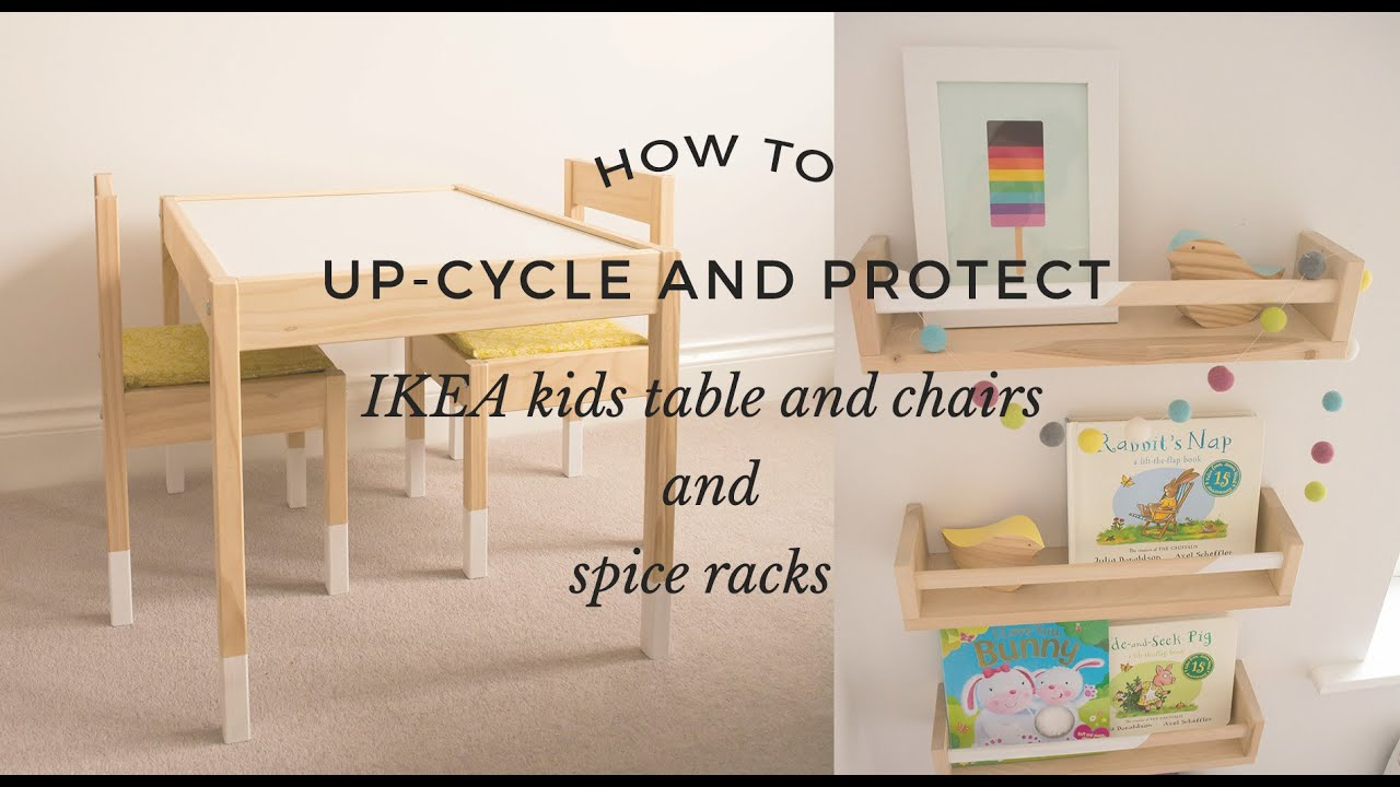 Ikea Kids Table And Chairs Vitra Office Chair Instructions How To Up Cycle Protect Spice Racks