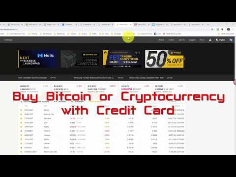 Buy Bitcoin Or Cryptocurrency With Credit Card