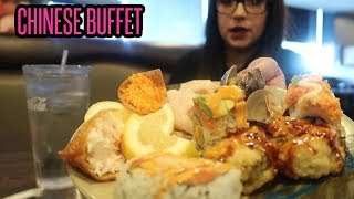 CHINESE BUFFET MUKBANG | EATING SHOW