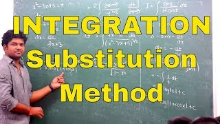 12th Integration  - Lecture 3 - Substitution Method