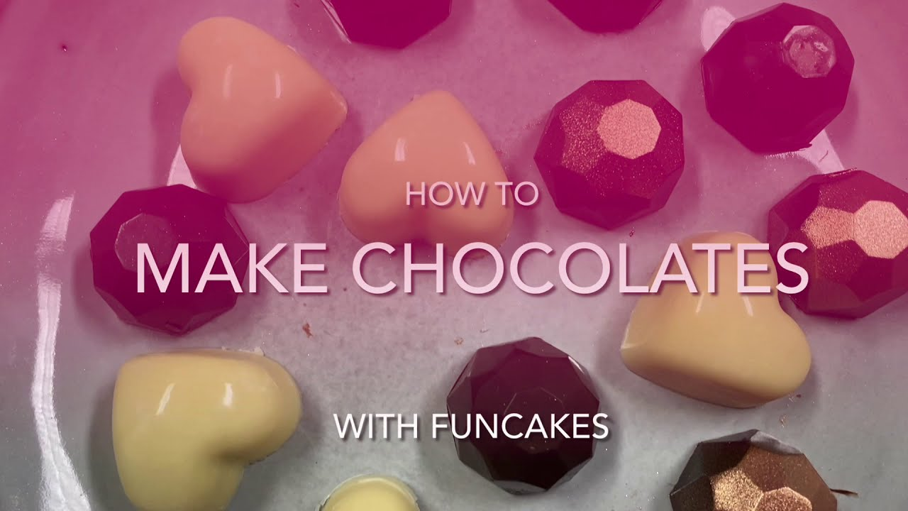 How To Make Chocolates with FunCakes