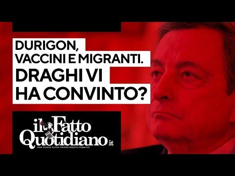 Durigon, vaccini e migranti: Draghi vi ha convinto?