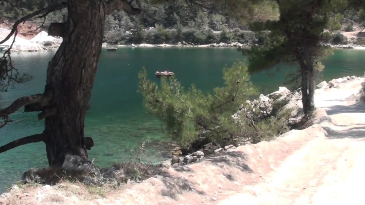 Marble Beach Mermerna Plaza Tasos Full Hd