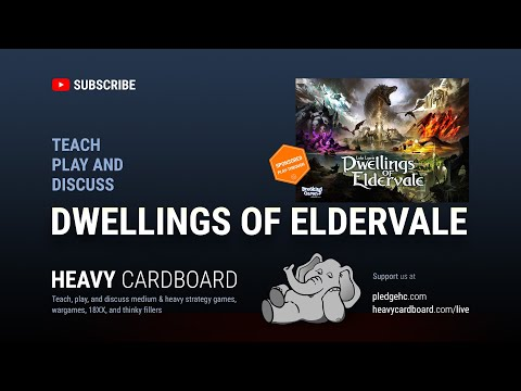 Dwellings of Eldervale 4p Teaching & Play-through by Heavy Cardboard thumbnail