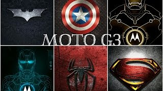Avengers Boot Logo For Moto G 3rd Gen 2015 [Marvel Edition]