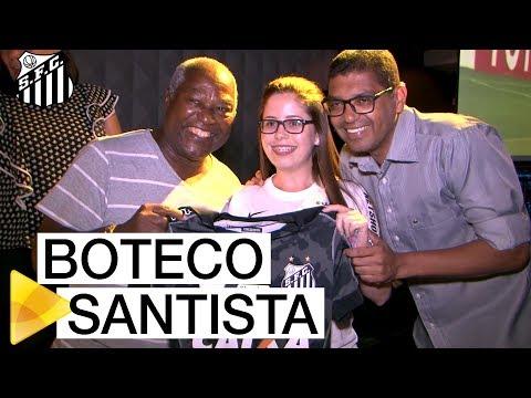 Santos FC promove primeira edição do Boteco Santista em 2018