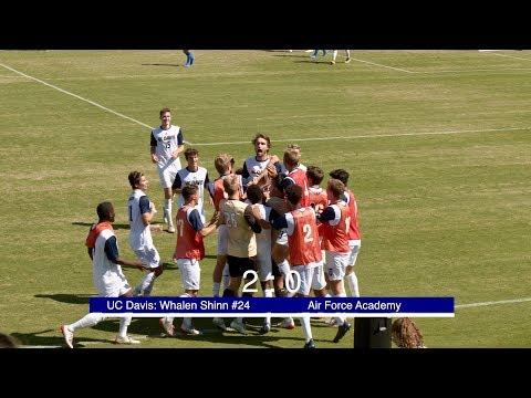 UC Davis Men's Soccer Vs Air Force Academy 2019-9-8