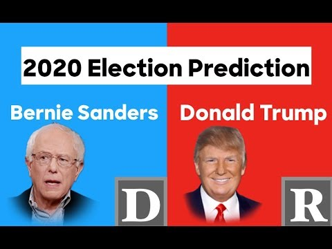 Bernie Sanders vs Donald Trump   2020 Presidential Election