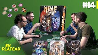 Découverte du jeu de majorité, NINE | En Plateau #14
