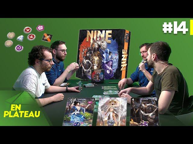 Découverte du jeu NINE | En Plateau #14