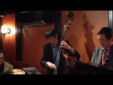 """""""Lullaby of the leaves""""  by ePAQ (em's Pro Ama Quartet) at Jazz & Bar em's in Ginza, Tokyo"""
