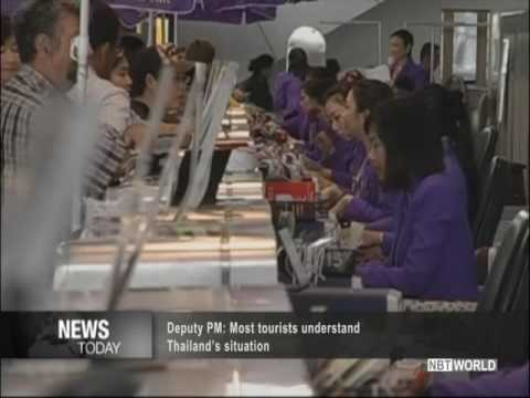 Deputy PM: Most tourists understand Thailand's situation