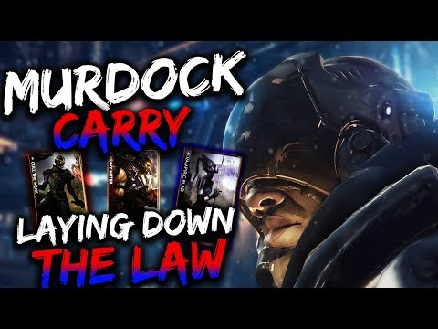 Paragon Murdock Gameplay -  LONE RANGER BUILD!