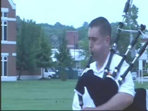 Anchors Aweigh and the Marine's Hymn- Mike Yearsley on Bagpipes