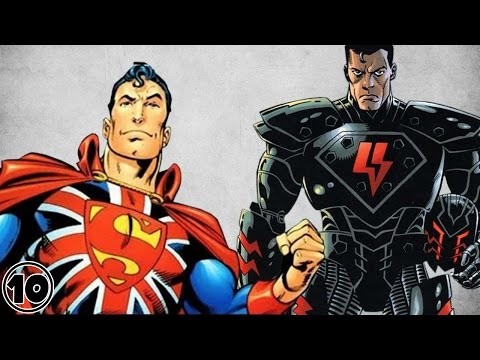 Top 10 Alternate Versions Of Superman -  Part 2