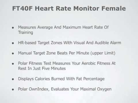 Polar FT40 Heart Rate Monitor Review