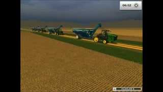 ARATAZ GROUP Multiplayer # 11 in Sunshine map Farming Simulator 2013