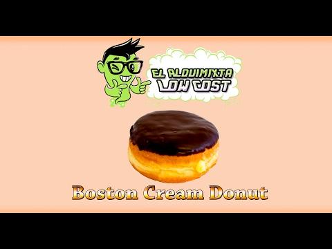 Recetas de vapeo: Boston Cream Donut