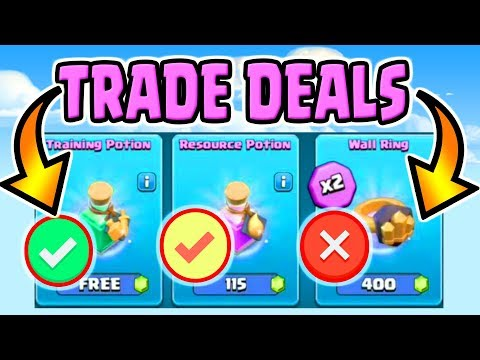 BEST AND WORST TRADER DEALS GUIDE | THE TRADER STRATEGY in Clash of Clans