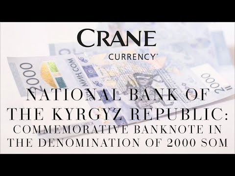 National Bank of the Kyrgyz Republic: Commemorative banknote in the denomination of 2000 Som