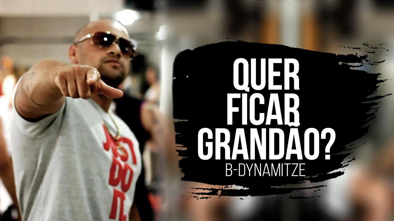 Download B-Dynamitze - Quer Ficar Grandão (CLIP OFICIAL)