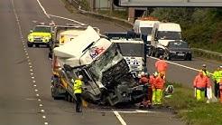 Grave accident sur une autoroute britannique : 8 morts