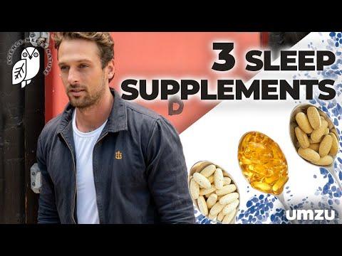 3 Evidence Based Sleep Aid Supplements For Insomnia (Magnesium, Ashwagandha, Glycine)