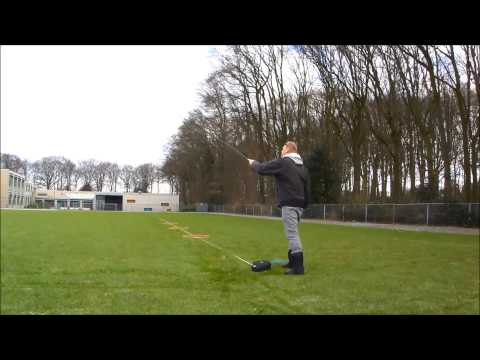 Practice distance and overhead cast fly casting
