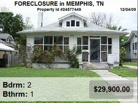 Memphis Foreclosures - Homes For Sale